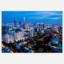 night Ho Chi Minh city