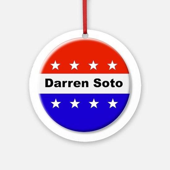 Vote Darren Soto Round Ornament
