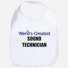 Worlds Greatest SOUND TECHNICIAN Bib