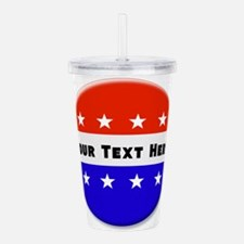 Vote Acrylic Double-wall Tumbler