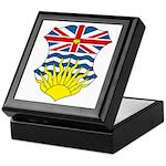 British Columbia Coat of Arms Keepsake Box
