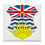 British Columbia Coat of Arms Tile Coaster