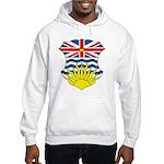 British Columbia Coat of Arms Hooded Sweatshirt