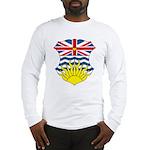 British Columbia Coat of Arms Long Sleeve T-Shirt