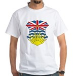 British Columbia Coat of Arms White T-Shirt