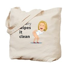 Hillary Wipes It Clean Tote Bag