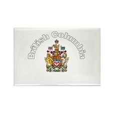 British Columbia Coat of Arms Rectangle Magnet