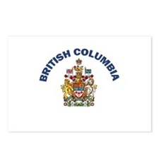 British Columbia Coat of Arms Postcards (Package o