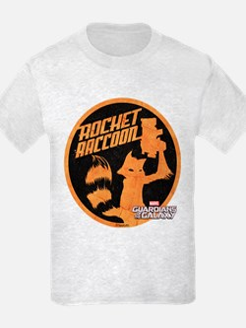 GOTG Comic Rocket Retro T-Shirt