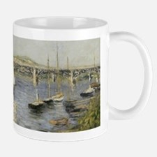 Caillebotte Sailing Boats at Argenteuil Mugs