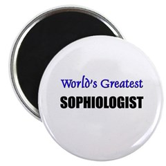 Worlds Greatest SOPHIOLOGIST Magnet