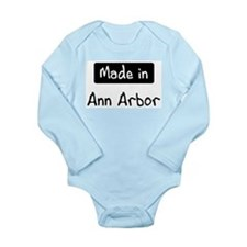 Funny Places Long Sleeve Infant Bodysuit