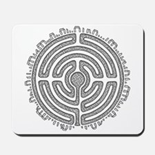 Celtic Labyrinth Mandala Mousepad