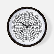 Celtic Labyrinth Mandala Wall Clock