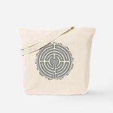 Celtic Labyrinth Mandala Tote Bag