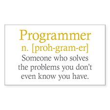 Programmer Definition Decal