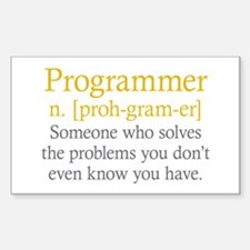 Programmer Definition Decal