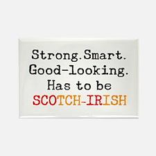 be scotch-irish Rectangle Magnet