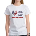 Forever supporting - Army Fia Women's T-Shirt