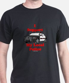 Support Local Police T-Shirt