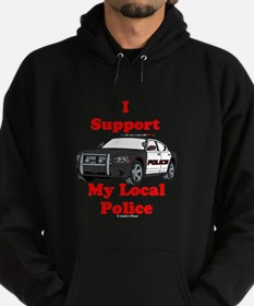 Support Local Police Hoody