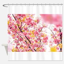 Cool Dogwoods Shower Curtain