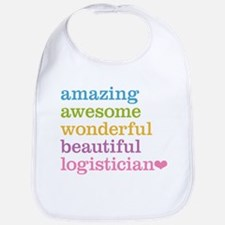 Amazing Logistician Bib