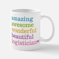 Amazing Logistician Mugs