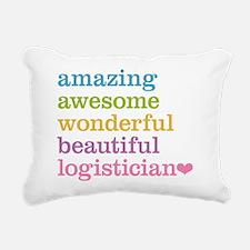 Amazing Logistician Rectangular Canvas Pillow