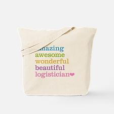 Amazing Logistician Tote Bag