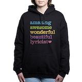 Lyricist Hooded Sweatshirt