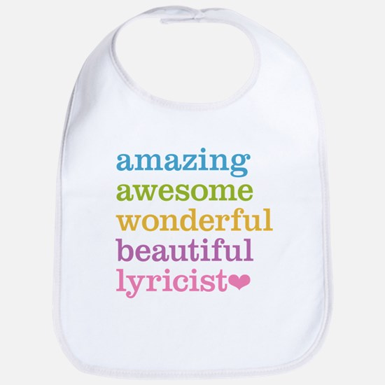 Amazing Lyricist Bib