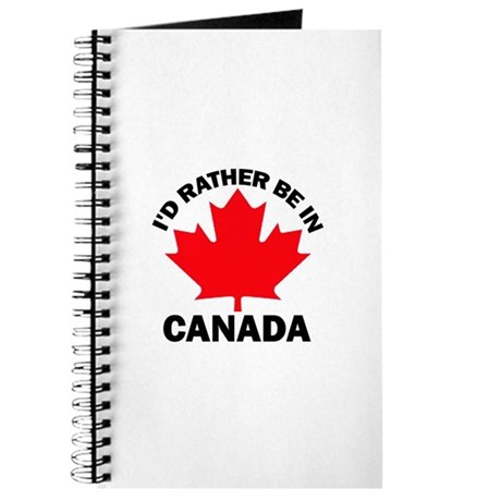 I'd Rather Be in Canada Journal