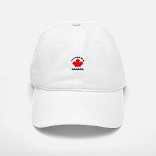 I'd Rather Be in Canada Baseball Baseball Cap
