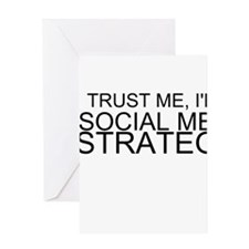Trust Me, I'm A Social Media Strategist Greeting C