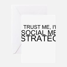 Trust Me, I'm A Social Media Strategist Greeting C