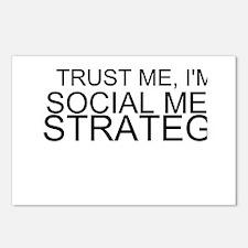 Trust Me, I'm A Social Media Strategist Postcards