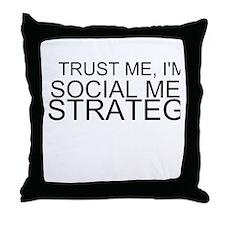 Trust Me, I'm A Social Media Strategist Throw Pill