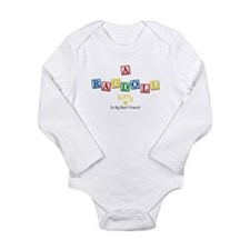 Funny Ragdoll Long Sleeve Infant Bodysuit