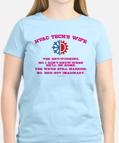 HVAC Tech Wife T-Shirt