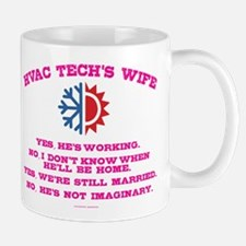 HVAC Tech Wife Mugs