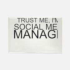 Trust Me, I'm A Social Media Manager Magnets