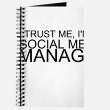Trust Me, I'm A Social Media Manager Journal