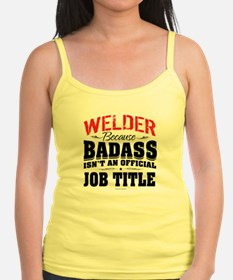 Badass Welder Tank Top