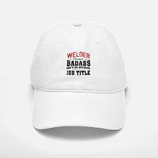 Badass Welder Baseball Baseball Cap