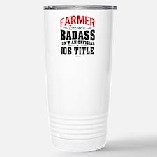 Badass Farmer Travel Mug
