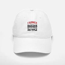 Badass Farmer Baseball Baseball Cap