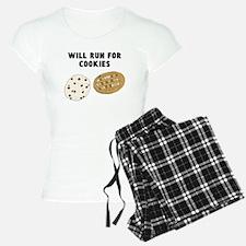Will Run For Cookies Pajamas