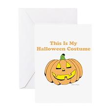 Halloween Costume Greeting Cards