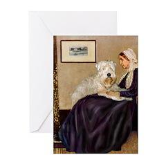 Mom's Wheaten Terrier Greeting Cards (Pk of 20)